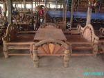 โต๊ะชุดหางนกยูงใหญ่(200 ซม)