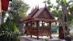 ศาลาทรงไทยมุขซ้อนพร้อมตีฝ้า