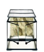 Exo Terra - Glass Terrarium Small/Wide 45 x 45 x 45 cm.