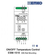 EMKO Rail Mounting ON/OFF Temperature Control Device