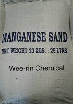 แมงกานีส แซนด์ (Manganese sand)