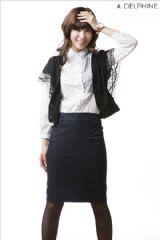 เสื้อผ้าแฟชั่น: กระโปรงสาวออฟฟิศ executive