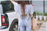 เสื้อผ้าแฟชั่น แฟชั่นเกาหลี เสื้อเก๋โชว์แผ่นหลัง ฮิบๆ