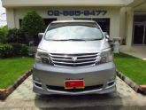 TOYOTA ALPHARD 2.4G Wagon AT สีเทา ปี 2009
