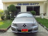 BENZ C200 CGI Blue Efficency 1.8 W204 สีเทา ปี 2012