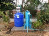 ติดตั้งระบบกรองน้ำบาดาล ภายในบ้าน' บ้านกู่แดง อ.สารภี จ.เชียงใหม่