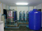 ติดตั้งทั้งระบบโรงงานน้ำดื่มพร้อมชุดบรรจุถัง'ลัง แบบหยอดเหรียญหน้าโรงงาน ชุมชนบ้านม้า อ.เมือง จ.ลำพูน ระบบ Reverse Osmosis 8'000ลิตร /วัน พร้อมเครื่องล้างถัง'ลังภายใน งานปรับสภาพน้ำดิบ ฯลฯ