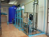 ติดตั้งทั้งระบบโรงงานน้ำดื่มพร้อมชุดบรรจุถัง'ลัง แบบหยอดเหรียญหน้าโรงงาน ชุมชนบ้านขัวแคร่ อ.เมือง จ.ลำพูน ระบบ Reverse Osmosis 8'000ลิตร /วัน พร้อมเครื่องล้างถัง'ลังภายใน งานปรับสภาพน้ำดิบ ฯลฯ