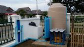 ติดตั้งระบบกรองน้ำประปาพร้อมถังเก็บน้ำ หมู่บ้านสมหวังคันทรีวิลล์