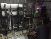 """ประกอบและติดตั้ง โรงงานน้ำดื่ม""""ศิษย์กมล""""อ.เชียงดาว จ.เชียงใหม่  ระบบ Reverse Osmosis กำลังการผลิต 158'970  ลิตร/วัน"""