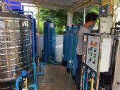 ติดตั้งจุดบริการน้ำดื่มชุมชนระบบ Reverse Osmosis  บ้านแม่ลาย  อ.ฮอด จ.เชียงใหม่
