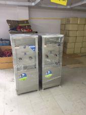 """จัดส่งเครื่องกรองน้ำดื่ม+ตู้น้ำเย็นขนาด2หัวก้อกและตู้น้ำร้อน2หัวก้อก """"MAXCOOL"""""""