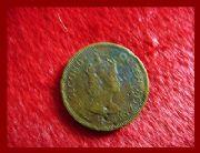 เหรียญ Hong Kong 1961 - 10 Cents Bronze Coin สภาพ 80% เหรียญโลกเก่า (หายาก)