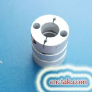Double Flexible disk Coupling 19x 19 mm.
