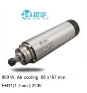 SPINDLE MOTOR 0.8 KW AIR COOLING