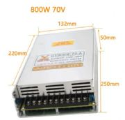 Switching Power Supply70V.800W 12A