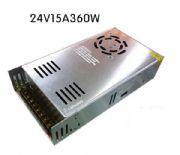 SWITCHING POWERSUPPLY 24 V15 Amp360W