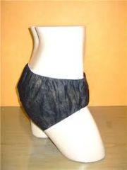 กางเกงในกระดาษสีดำ สีนํ้าเงิน XL'XXL