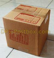 กล่องไปรษณีย์แบบฝาชน ใส่แผ่นCD