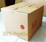 กล่องไปรษณีย์แบบฝาชน ไซด์ G
