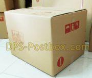 กล่องไปรษณีย์แบบฝาชน ไซด์ I ขนาด 45 x 55 x 40 ซม. ลูกฟูก 5 ชั้น