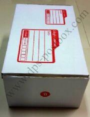 กล่องไปรษณีย์แบบมาตรฐาน สีขาว ไซด์ จ.