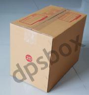 กล่องไปรษณีย์แบบฝาชน ไซด์ 2D