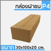 กล่องไปรษณีย์แบบฝาชน ไซด์ P4