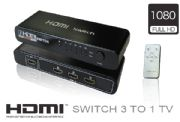 Switch OUT 1 TV x IN  3 Ports
