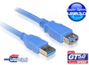 Cable USB 3.0 A Extension male-female STRAIGHT WIRE 1.5 M