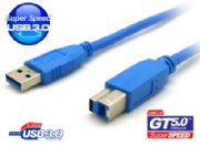 Cable USB 3.0 A (Male) to  B (Male) STRAIGHT WIRE 1.5 M