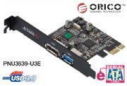 PCI-E: 1 USB 3.0 x 1 eSATA Multiply