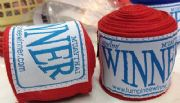 Handwraps Thai Style Elastic 1 Pair red