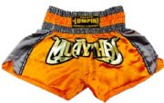 Muay Thai short orange,gray