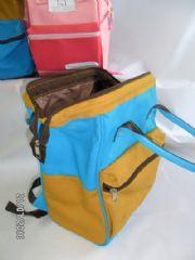 กระเป๋าทรงอะเนโล่เสริมปากเหล็ก