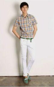เสื้อผ้าผู้ชาย : กางเกงสไตล์เกาหลีอินเทรนด์มากมาย