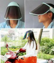 เสื้อผ้าผู้ชายพร้อมส่ง : visor กัน UV ปกปิดใหน้าจากแดดปรับได้ 360 องศา
