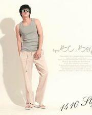 เสื้อผ้าผู้ชายพร้อมส่ง : กางเกง linen casual เท่ๆ