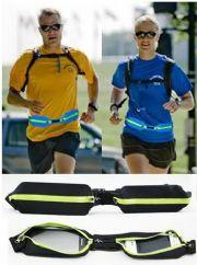 เสื้อผ้าผู้ชายพร้อมส่ง : sport pocket กระเป๋าคาดสำหรับเล่นกีฬา (แบบกระเป๋าคู่)
