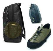 เสื้อผ้าผู้ชายพร้อมส่ง : รองเท้าพับได้พกพาเดินทาง