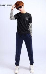 เสื้อผ้าผู้ชายพร้อมส่ง : กางเกงผ้ายืดทรงฮาเร็ม