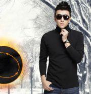 เสื้อผ้าผู้ชาย : เสื้อแขนยาวคอเต่าหน้าหนาว