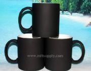 แก้ว MUG เปลี่ยนสีได้สีดำ พร้อมกล่อง