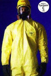 ชุดกันสารเคมี DUPONT  เป็นชุด ไทเวค แบร์ริเออร์ แมน เคลือบโพลิเมอร์
