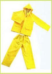 ชุดเสื้อ กางเกง PVC/POLYESTER/PVC