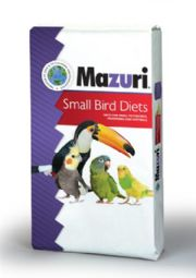 Mazuri Small Bird Breeder Diet 25 lb