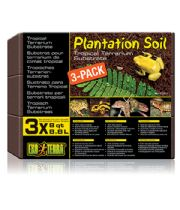 Exo Terra - Plantation Soil 8.8L x 3 pcs