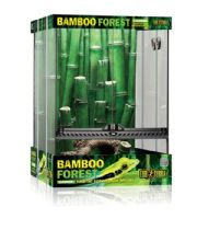 Exo Terra  - Bamboo Forest Habitact Large 1.5'W X 1.5'D X 2'H