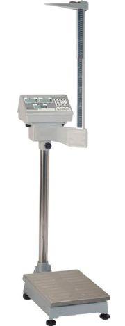 เครื่องชั้งน้ำหนักระบบดิจิตอล พร้อมที่วัดส่วนสูง และคำนวนค่า BMI