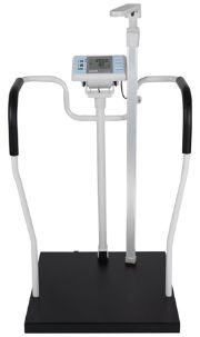 เครื่องชั่งน้ำหนักพร้อมวัดส่วนสูงและคำนวณค่า BMI ระบบดิจิตอล